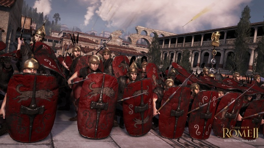 A Roman legionary formation from Rome Total War 2