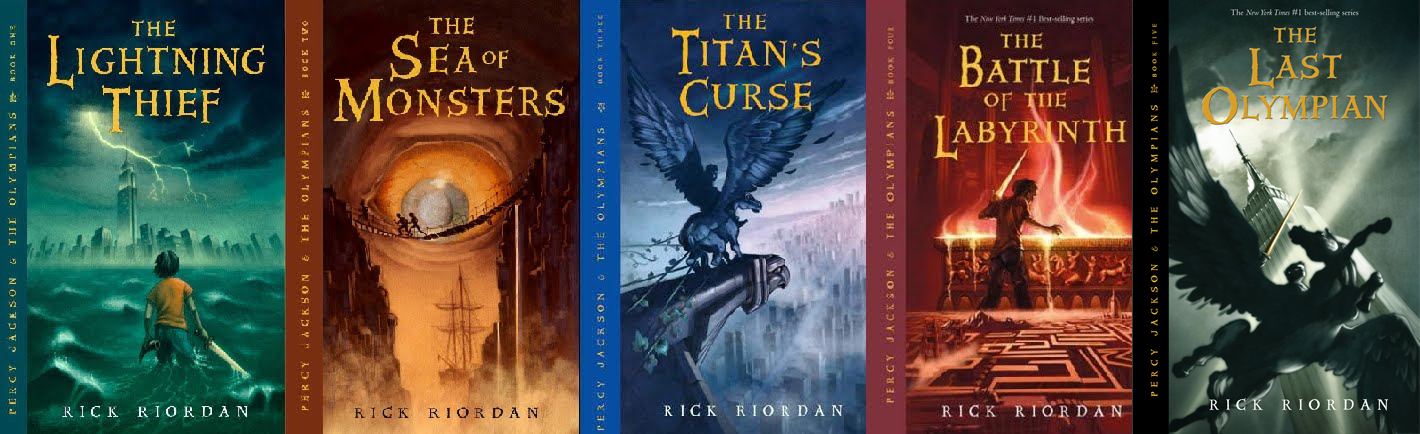 Image result for percy jackson series