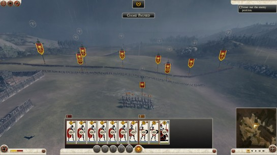 A screenshot from Total War Rome 2