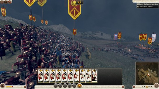 A screenshot from Rome Total War 2