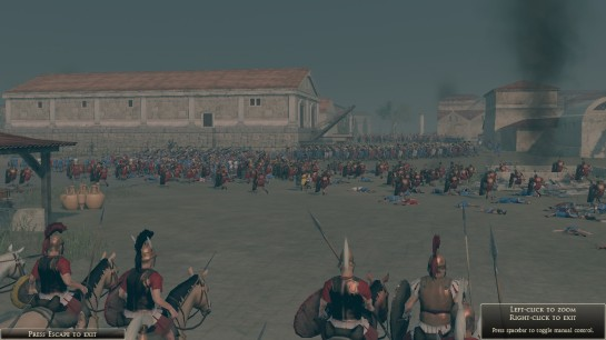 Screenshot from Rome Total War 2