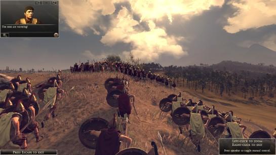 A screenshot from Rome Total War 2